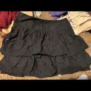 Banana Republic black skirt from New York.